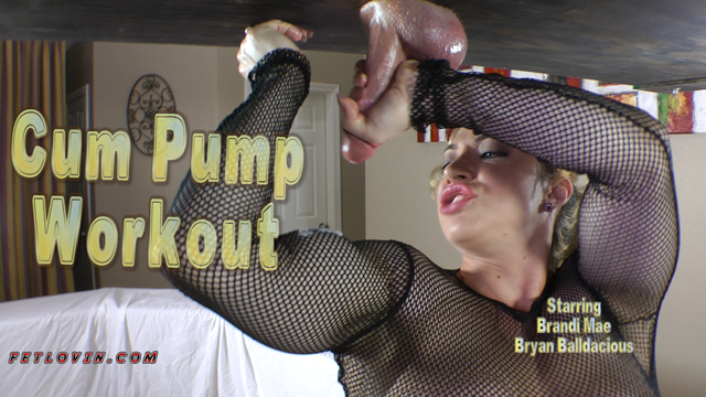 Cum Pump Workout
