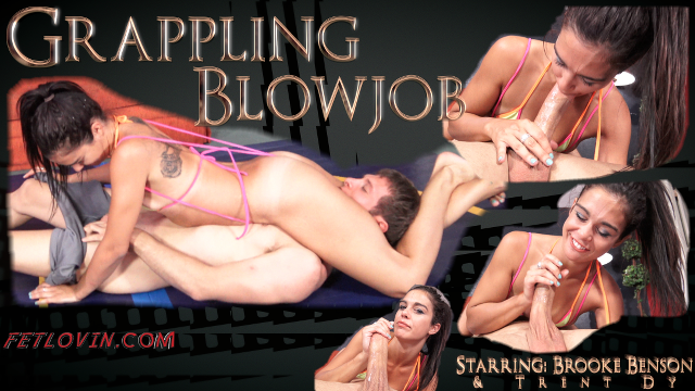 Grappling Blowjob