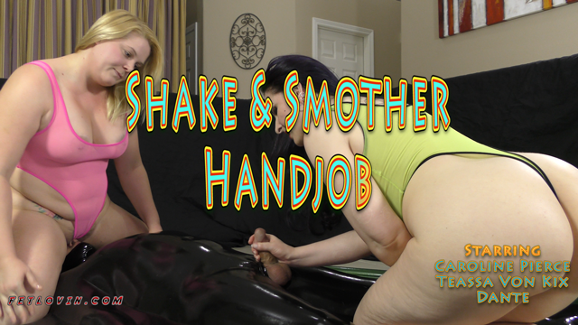 Shake & Smother Handjob
